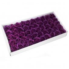 Muilo rožė. Spalva tamsiai violetinė