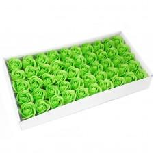 Muilo rožė. Spalva žalia