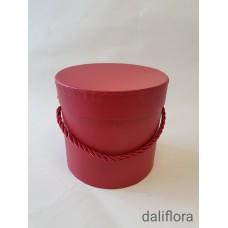Dekoratyvinė gėlių dėžutė (maža). Spalva raudona