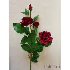 Dirbtinių rožių šaka