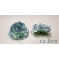Dirbtiniai rožių žiedai. Spalva melsva