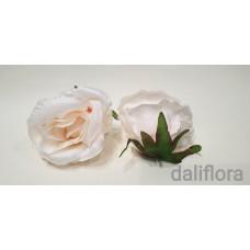 Dirbtiniai rožių žiedai. Spalva pastelinė