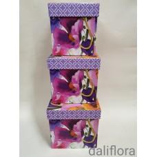 Margų gėlių dėžučių komplektas