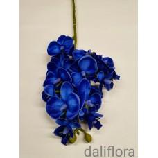 Dirbtinė smulkiažiedė orchidėja. Spalva mėlyna