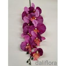 Dirbtinė orchidėja. Spalva violetinė