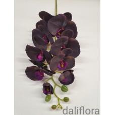 Dirbtinė orchidėja. Spalva tamsiai violetinė