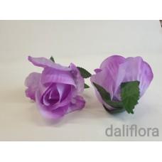 Dirbtiniai rožių žiedai. Spalva violetinė