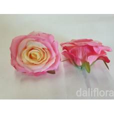 Dirbtiniai rožių žiedai. Spalva rožinė