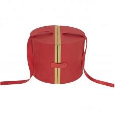 Dekoratyvinė dėžutė. Spalva raudona